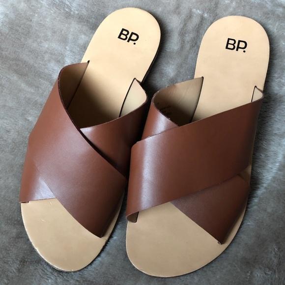 aad95ec8d bp Shoes - BP Women s Slides - Cognac Color